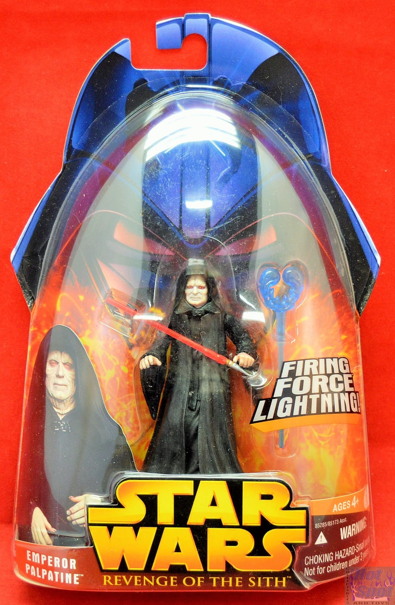 Hot Spot Collectibles And Toys Revenge Of The Sith Emperor Palpatine Action Figure