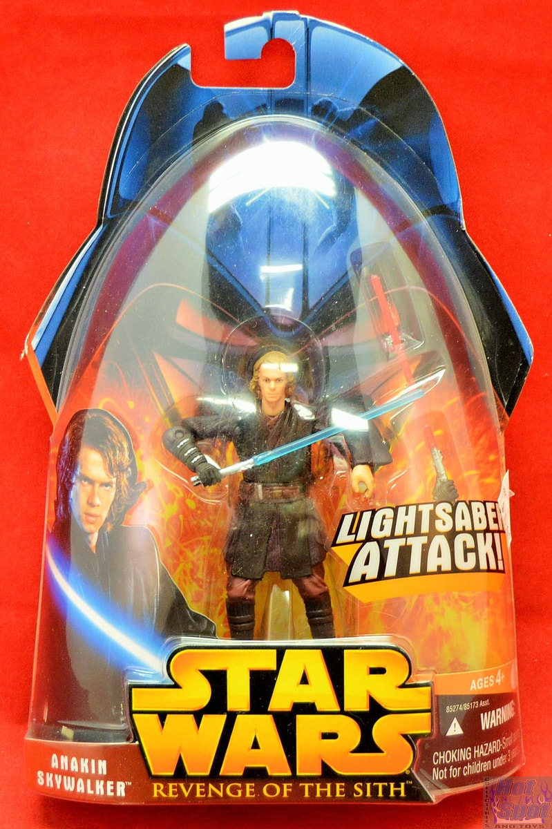 Hot Spot Collectibles And Toys Revenge Of The Sith Anakin Skywalker Action Figure