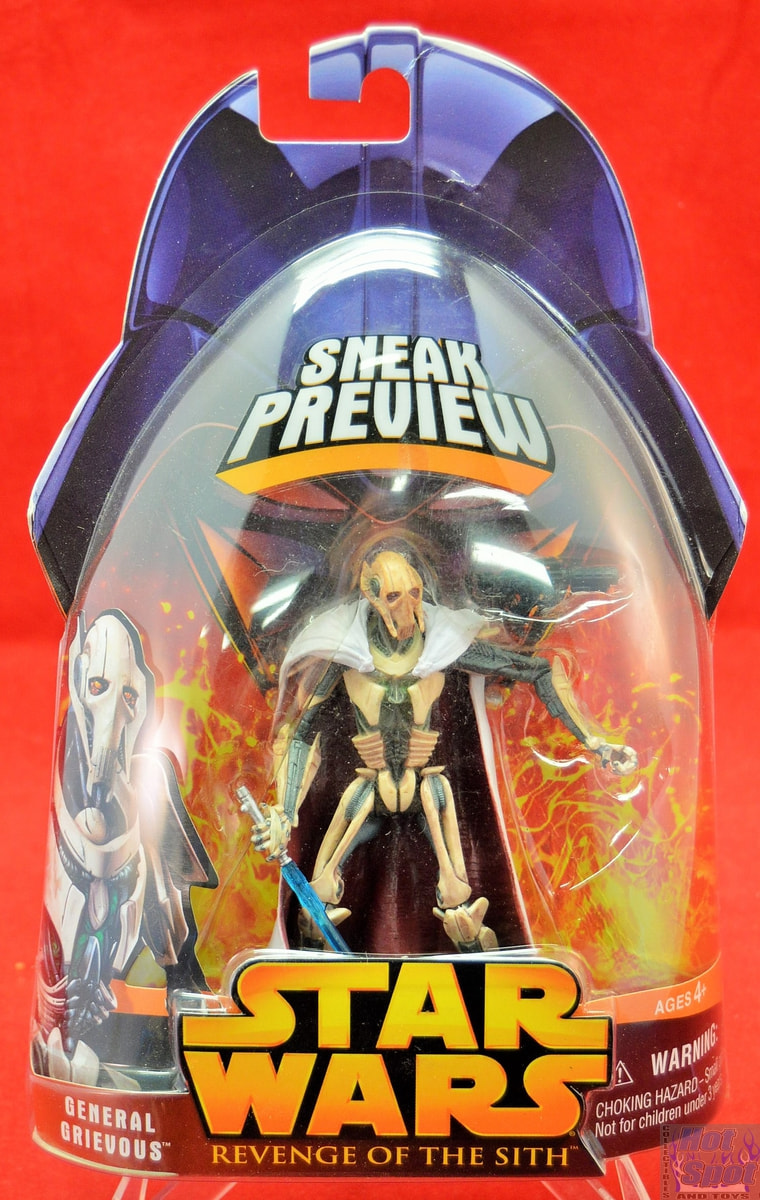 Hot Spot Collectibles And Toys Revenge Of The Sith General Grievous Action Figure
