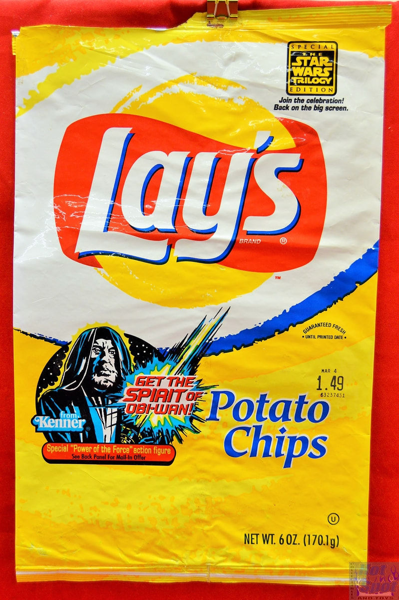 Vintage Potato Chip Bags