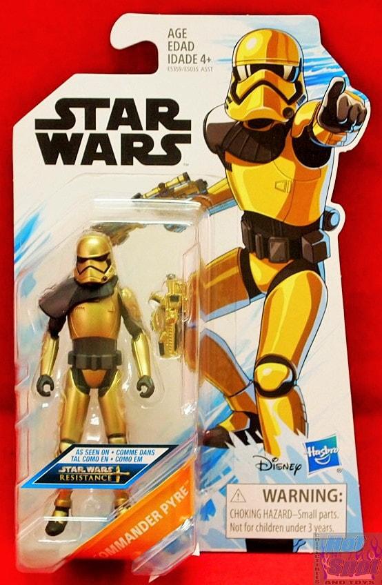 Commander Pyre Star Wars Resistance Action Figure