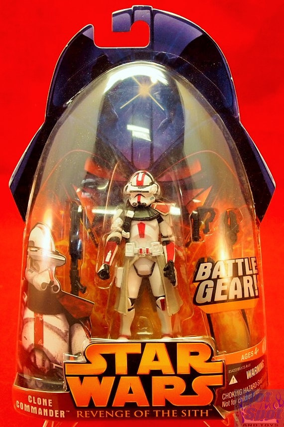 Hot Spot Collectibles And Toys Revenge Of The Sith Clone Commander Red