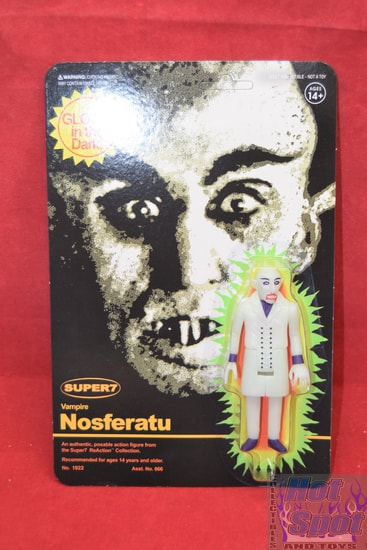 Vampire Nosferatu Glow-In-The-Dark ReAction Figure