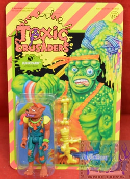 Junkyard Toxic Crusaders ReAtion Figure