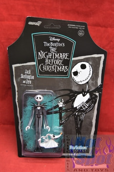 Jack Skellington with Zero ReAction Figure