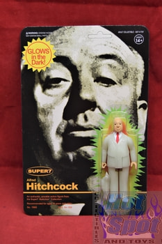 Alfred Hitchcock Glow In The Dark Super7 Figure