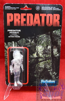 Invisible Predator Figure Carded Punched