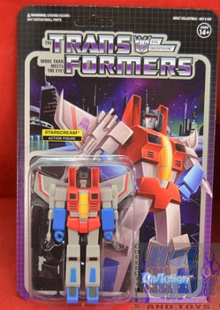 StarScream ReAction Figure