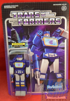Soundwave ReAction Figure