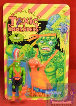 Toxie Toxic Crusaders ReAction Figure