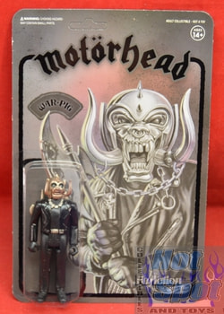 Head War-Pig Black Metal Figure Motor