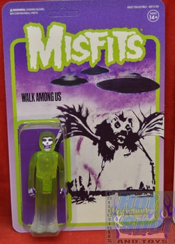 Misfits Walk Among Us Green Figure
