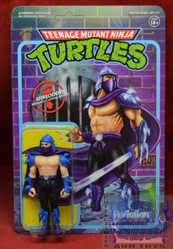 Shredder ReAction Figure