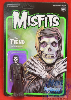The Fiend Action Figure Midnight Black