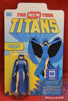 DC Exclusive The New Teen Titans Raven Figure