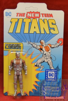 DC Exclusive The New Teen Titan Cyborg