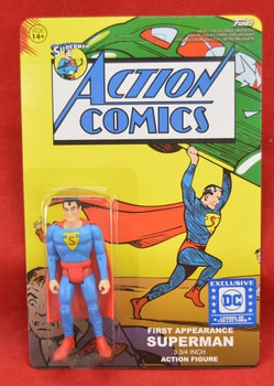 Superman Exclusive Action Comics Figure