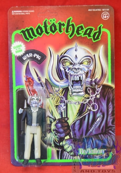Motorhead War Pig Glow in the Dark Figure