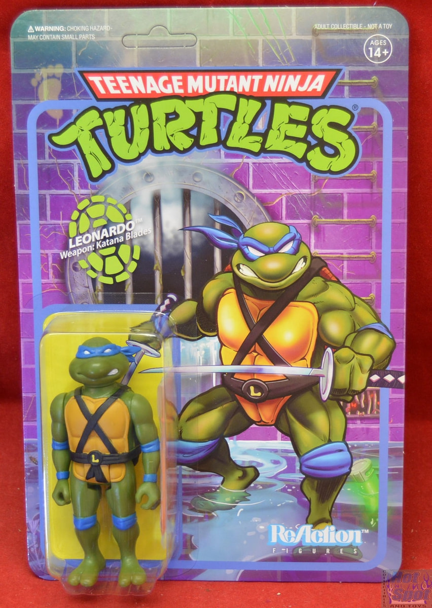 Hot Spot Collectibles And Toys Tmnt Leonardo Wave 1 Figure