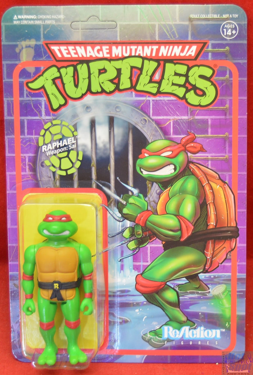 Hot Spot Collectibles And Toys Tmnt Raphael Wave 1 Figure