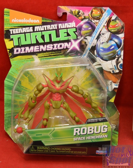Robug Space Henchman Dimension TMNT Figure
