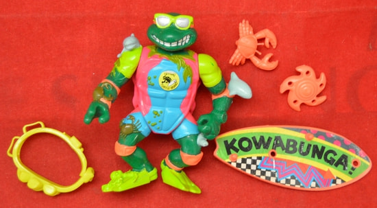 1990 Sewer Surfin' Mike figure