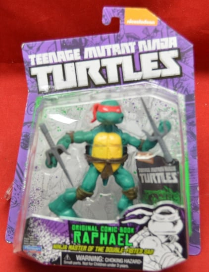 Raphael Original Comic Book Figure
