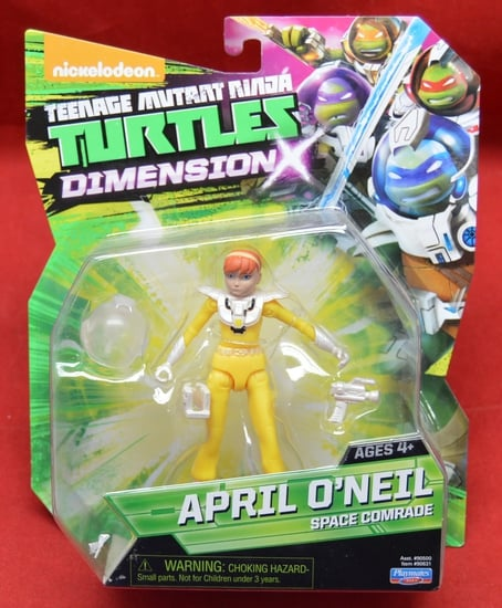 April O'Neil Space Commander Figure