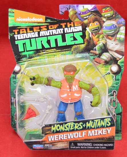 Werewolf Mikey Figure Tales of the Turtles