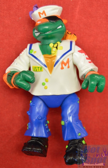 1991 Midship Man Mike Action Figure only
