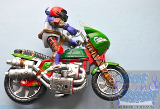 Donatello with bike