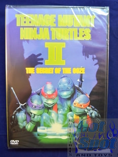 TMNT Teenage mutant Ninja turtles 2 The secret of the ooze