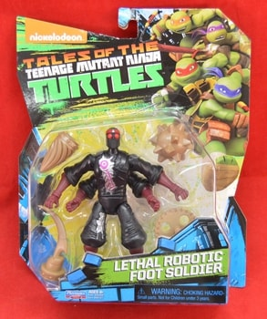 Lethal Robotic Foot Soldier Tales Of the Turtles