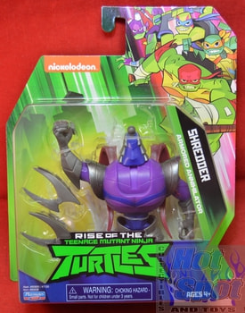Shredder Action Figure ERROR NO HEAD