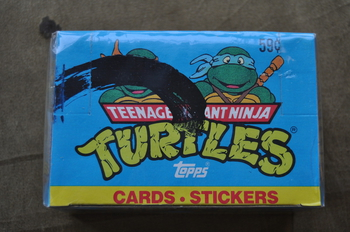Teenage Mutant Ninja Turtle Cards and Stickers