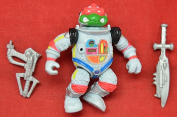 Space Cadet Raph with Accessories 1990