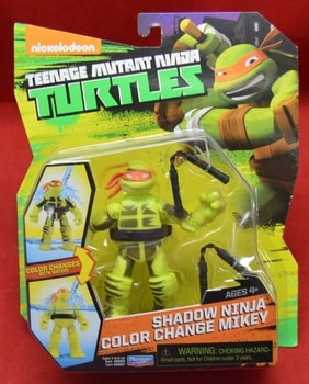 Shadow Ninja Color Change Mikey Figure