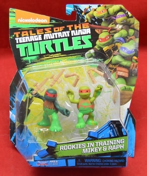 Rookies in Training Mikey & Raph Tales of the Turtles