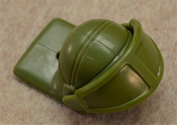 Turtle Trooper Helmet and Face shield