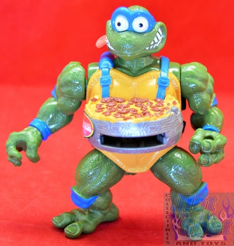 1993 Pizza Tossin' Leo Action Figure w/ Accessories