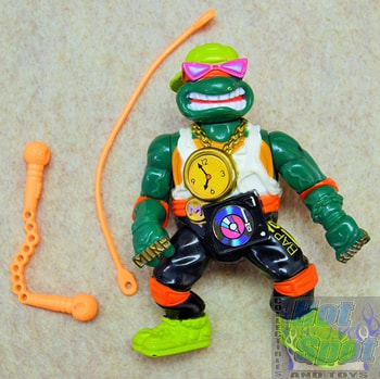 Rappin' Mike Action Figure w/ Accessories
