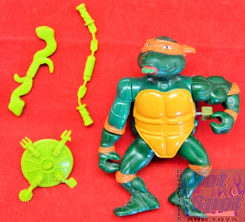 Rock-N-Roll Michaelangelo Complete w/ Accessories
