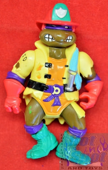 1991 Firefighter Donatello Action Figure