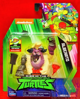 Rise of the TMNT Albearto Party Animal Action Figure