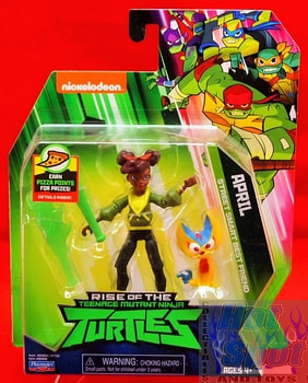 Rise of the TMNT April Street Smart Best Friend Action Figure