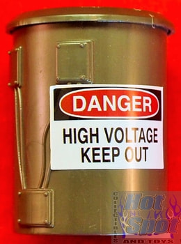 2012 Sewer Layer Playset High Voltage Can Part