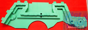2012 Sewer Layer Playset Green Base Part