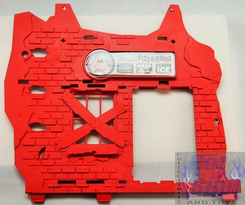 2012 Sewer Layer Playset Red Wall Part