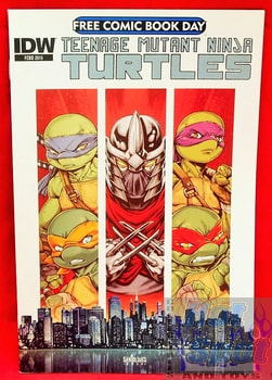 TMNT Vol.1 FCBD Comic Book