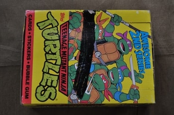 Teenage Mutant Ninja Turtle Cards 2nd Series